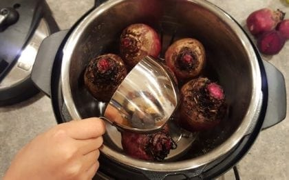 beets in instant pot