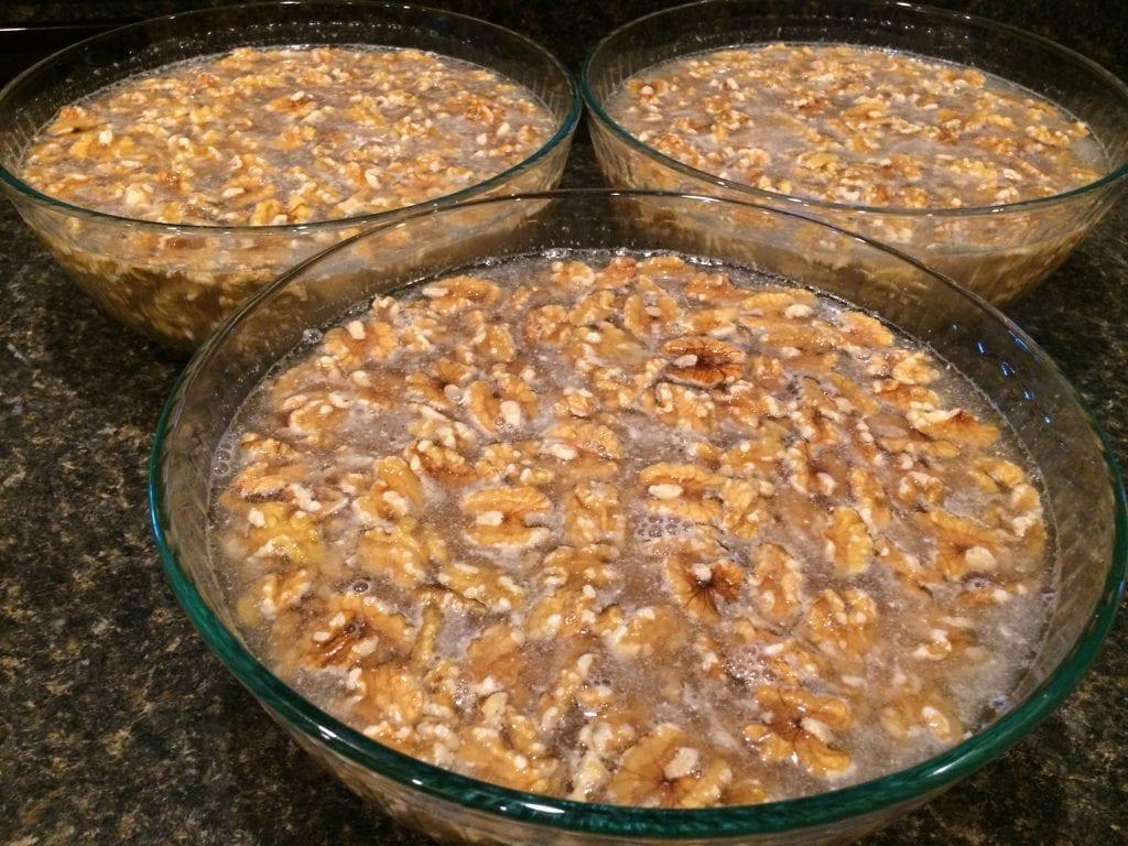 soaking nuts