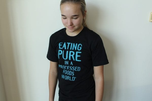 Eating Pure in a Processed Foods World Tee