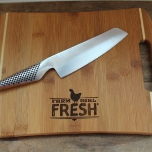 Farm Girl Fresh Bamboo Cutting Board