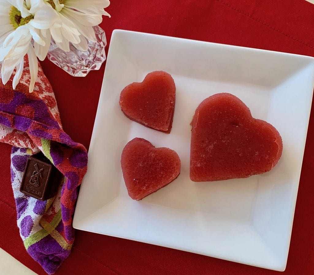 heart jello shapes