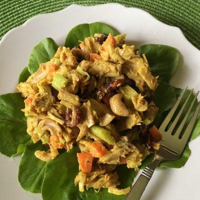 chicken curry salad