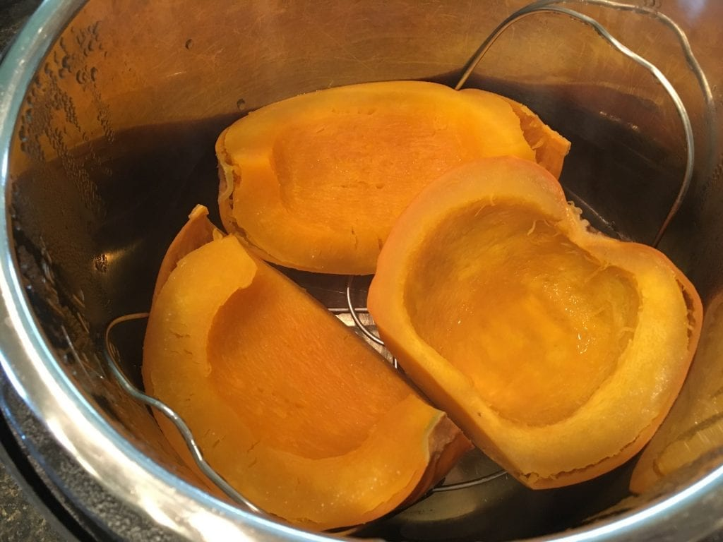 pumpkin in instant pot